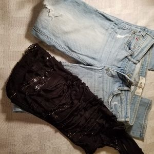 Easy Riding Hollister Skinny Jeans